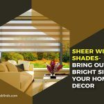 Sheer Window Shades- Bring out the Bright Side of Your Home Decor