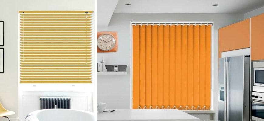 Colored Window Blinds