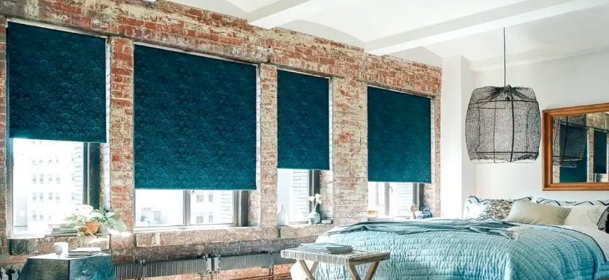 Bedroom Pull Down Shades