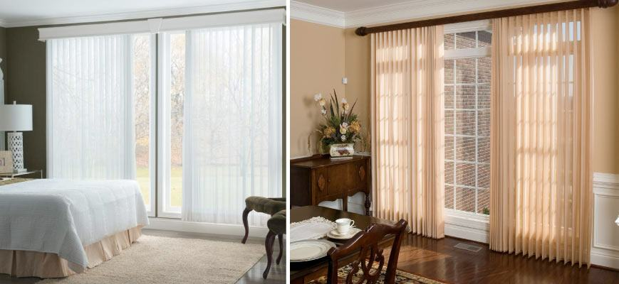 Sliding Door Shades