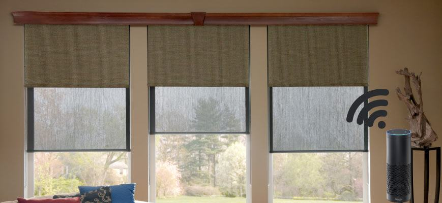 Voice Controlled Window Coverings