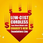 Low-cost Cordless Faux Wood Blinds with Graber's New Foundations Line