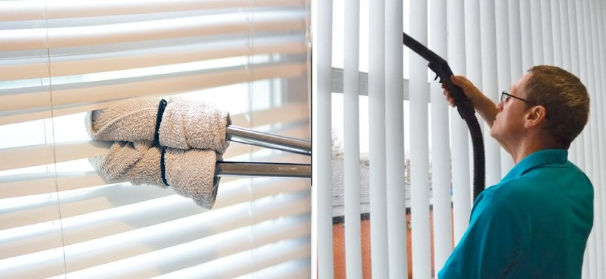 Easy Cleaning Horizontal Blinds