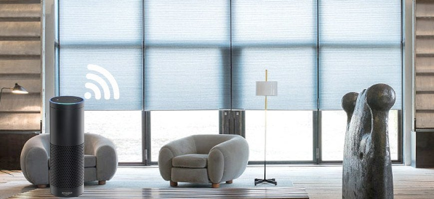 Voice Controlled Light Filtering Shades