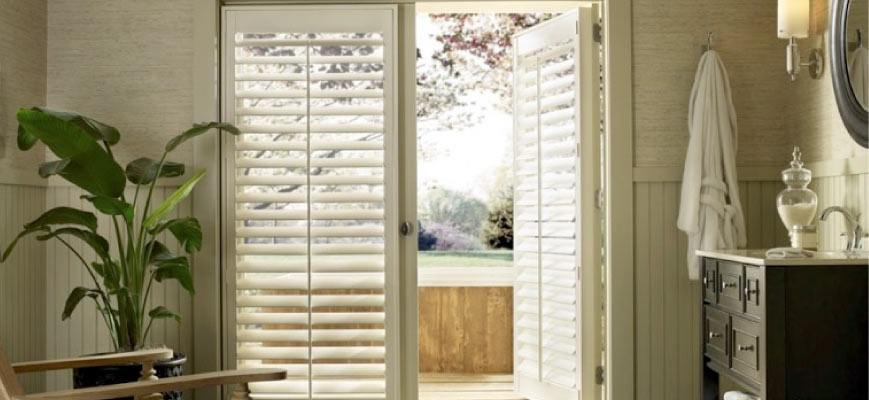 Specialty Shutters for French Doors