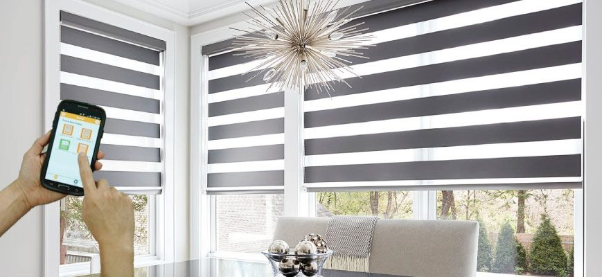 Smart Horizontal Sheer Shades