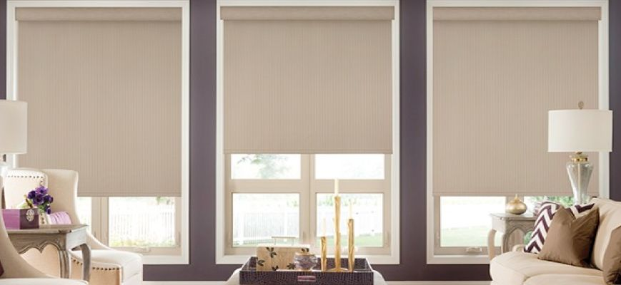 Z-Wave Motorized Roller Shades