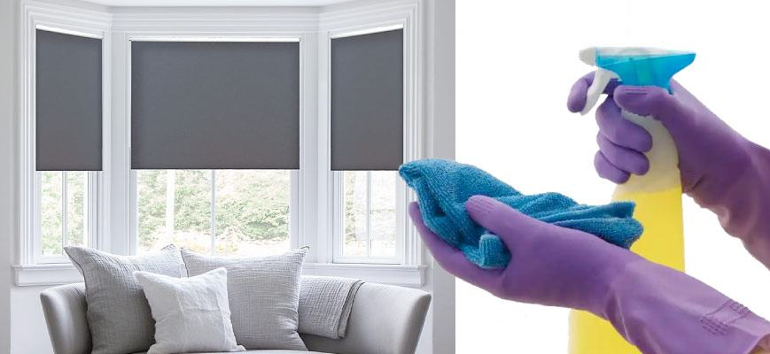 Cleaning Roller Shades
