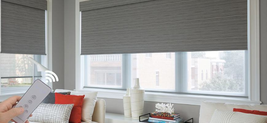 Roller Shades Offering A Cross Between Blinds And Shades