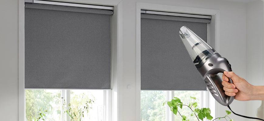 Vacuum Cleaning Smart Shades