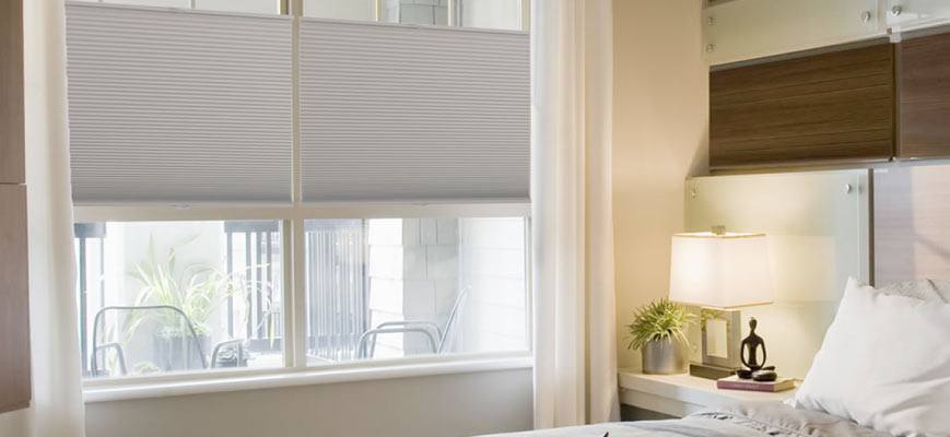 Cellular Shades for Bedroom
