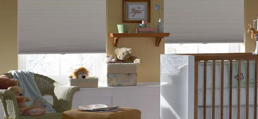 Cordless Blackout Shades for Nursery