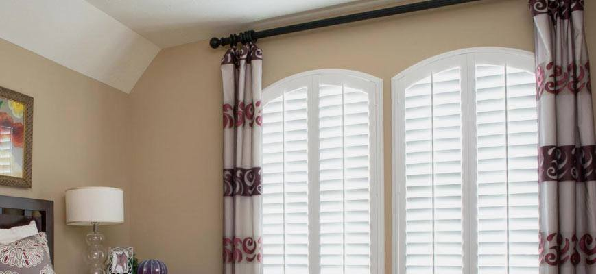 Door Panel Curtains for Arch Windows