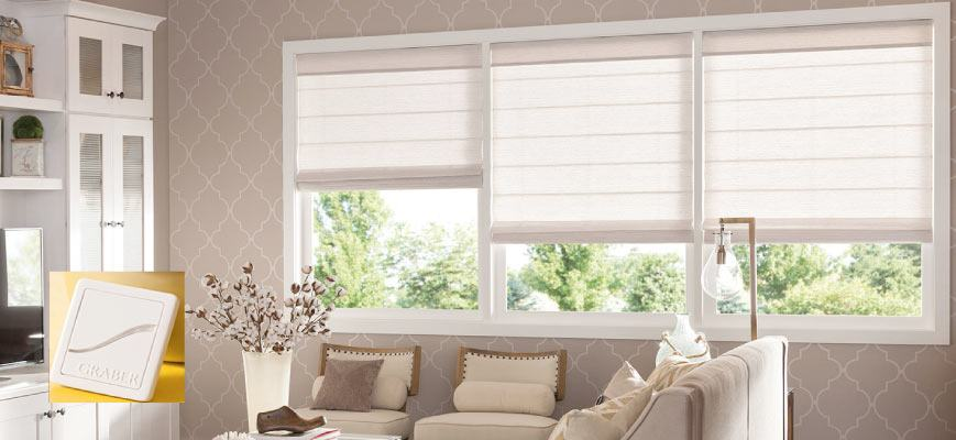 Smart Roman Window Shades