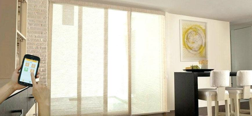 Smart Window Treatments for Sliding Glass Doors