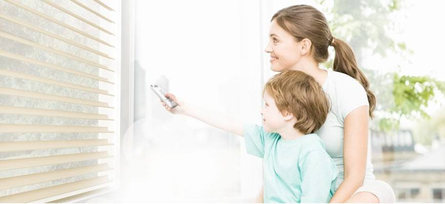 Remote Controlled Blinds for Kids Room