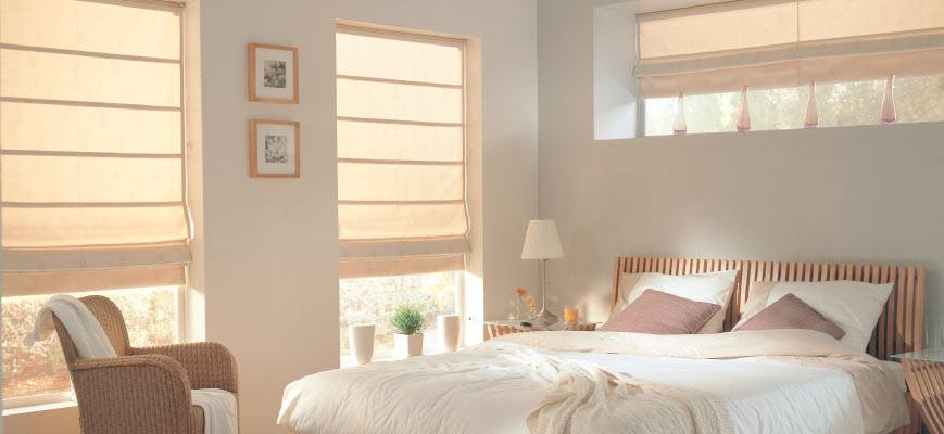 Roman Shades For Bedroom