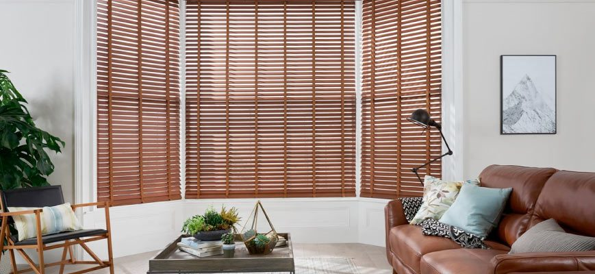 Wooden Blinds For Living Room