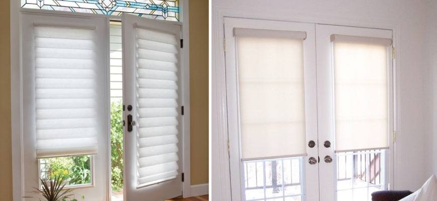 French Door Shades