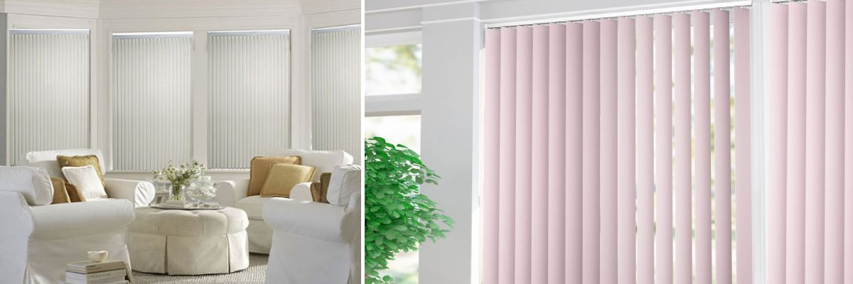 Vertical Shades for Office