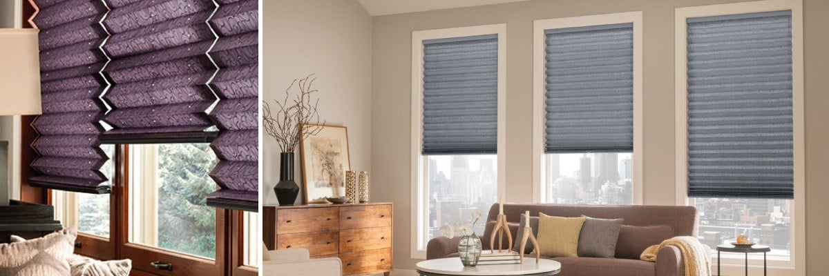 Pleated Shades for Office