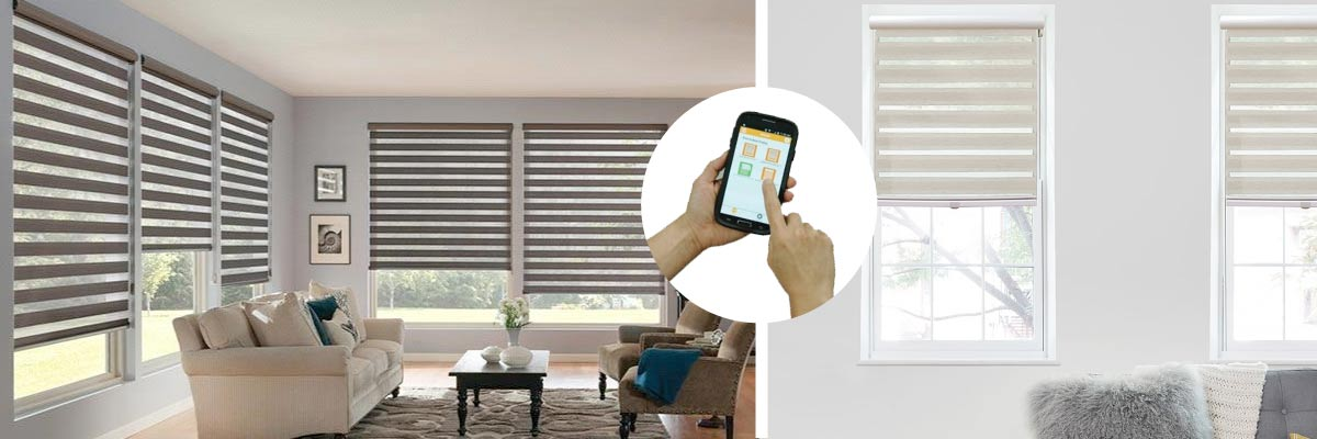Smart Motorized Shades