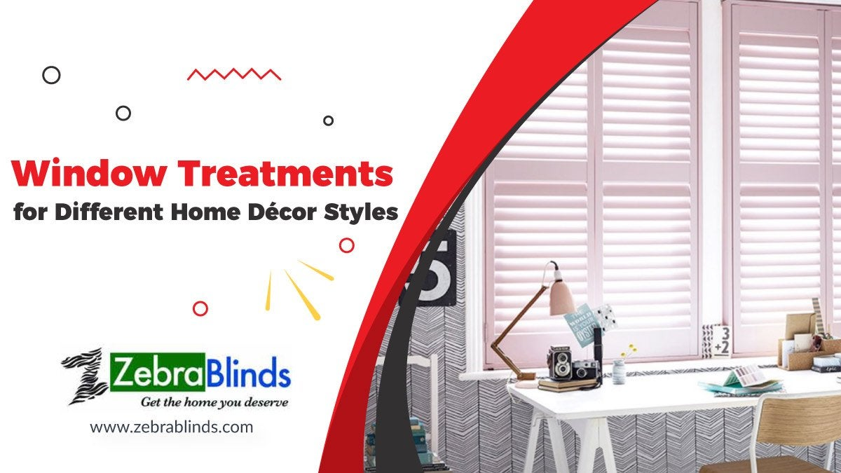 Window Treatments for Different Home Decor