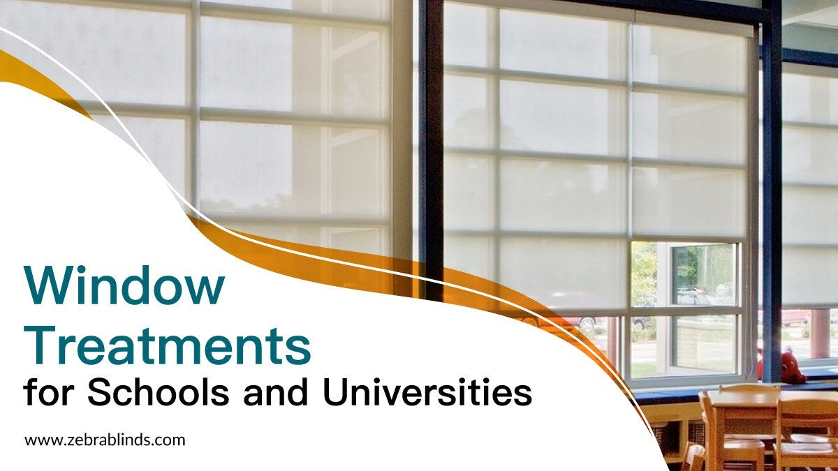 Window Treatments for Schools and Universities