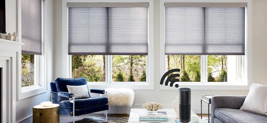 Voice Controlled Window Shades