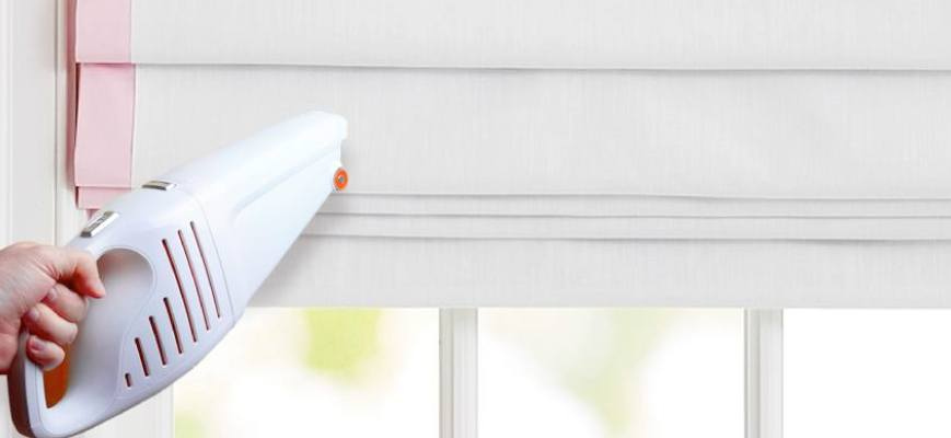 Cleaning Window Shades