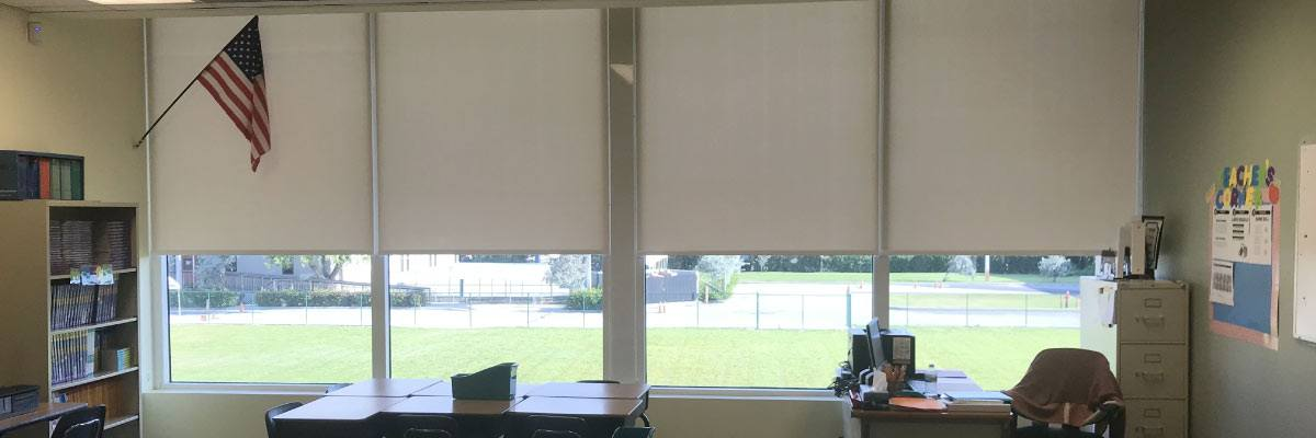 Classroom Roller Shades