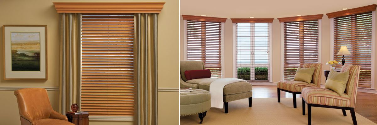 Integrating Cornices With Wood Blinds