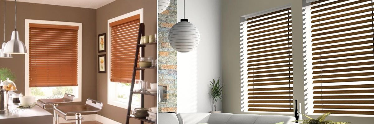 Real Wooden Blinds