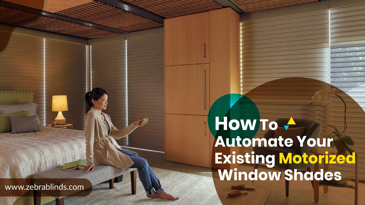 Automate Existing Window Shades