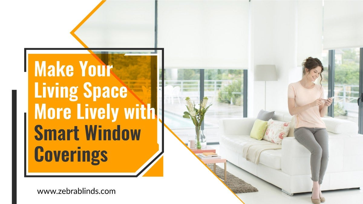 Smart Window Coverings for Living Space