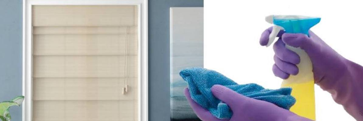 Cleaning Tips for Roman Shades