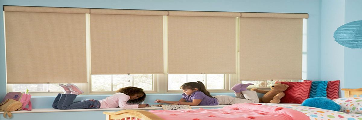Cordless Roller Shades for Kids Room