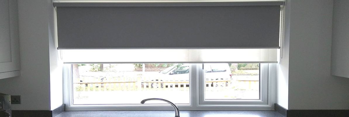 Double Holland Blinds