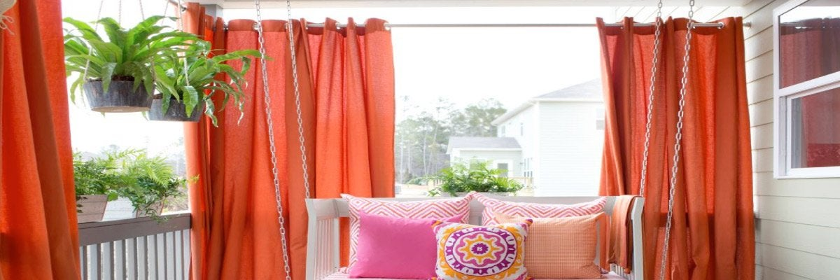 Draperies for Porch