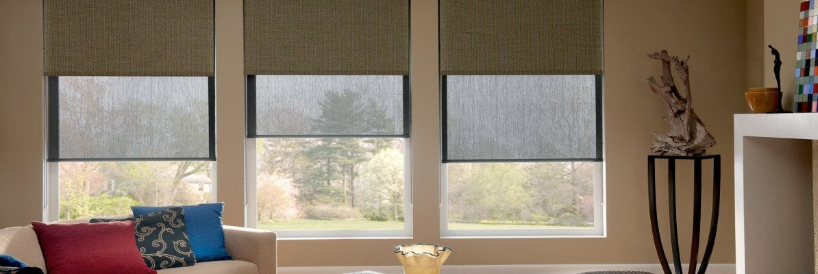 Dual Shades for Large Windows
