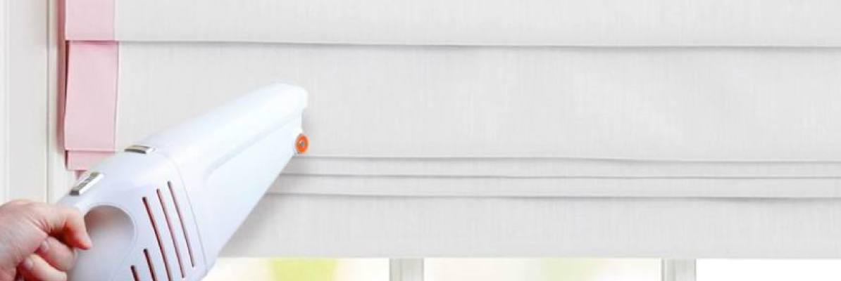 Easy Cleaning Roman Shades