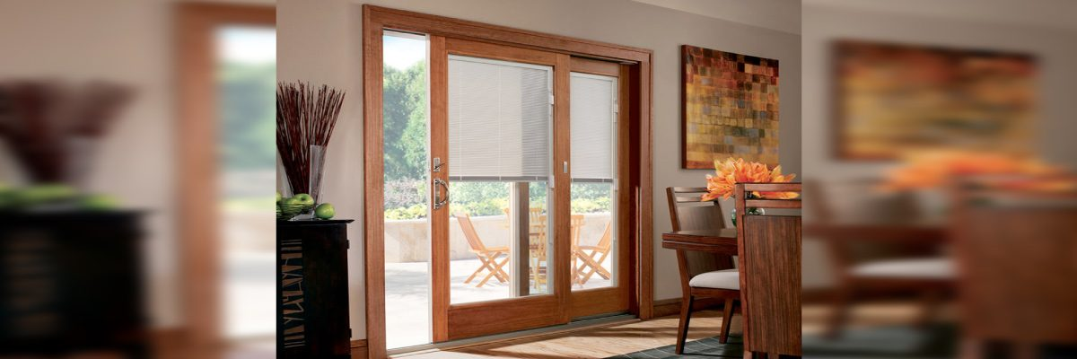 Shades for Hinged Patio Doors