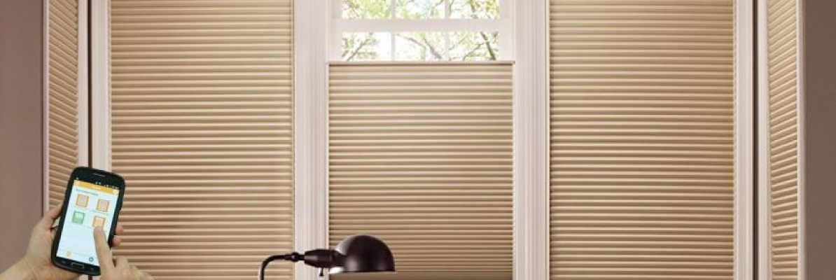 Smart Z-Wave Honeycomb Shades