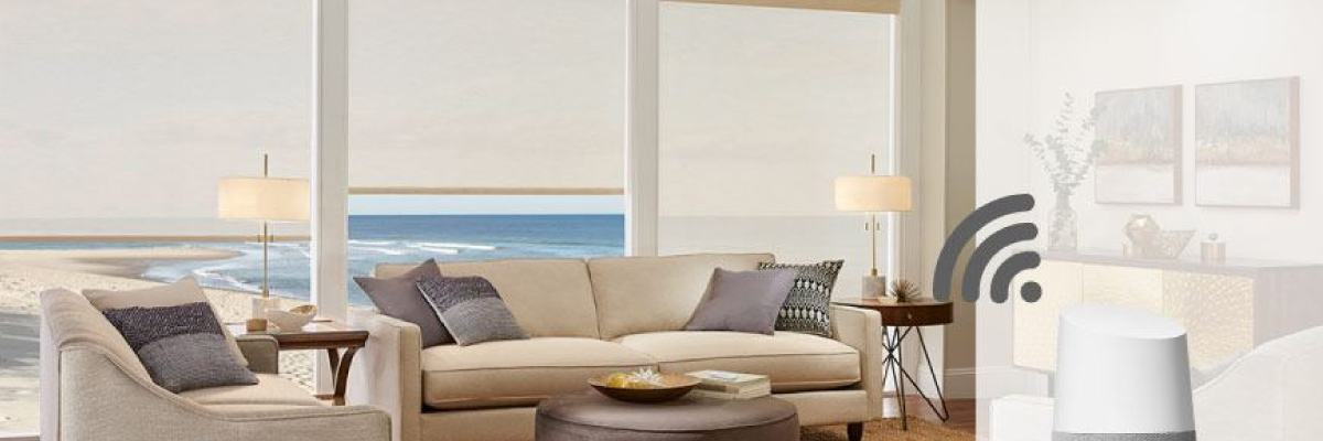 Smart Motorized Roller Shades