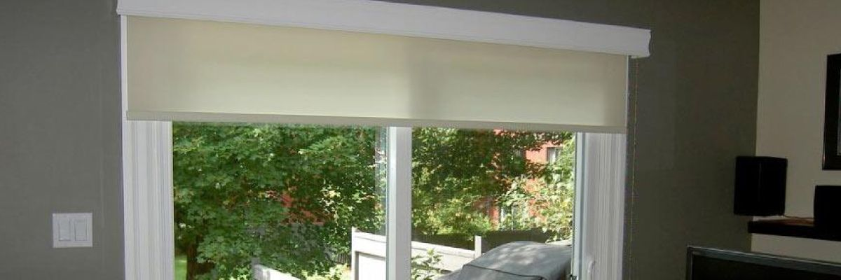 Solar Shades for Patio Doors