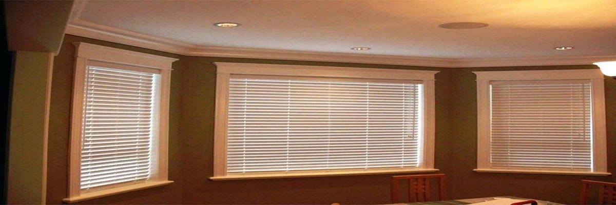 Wood Blinds for Bay Windows