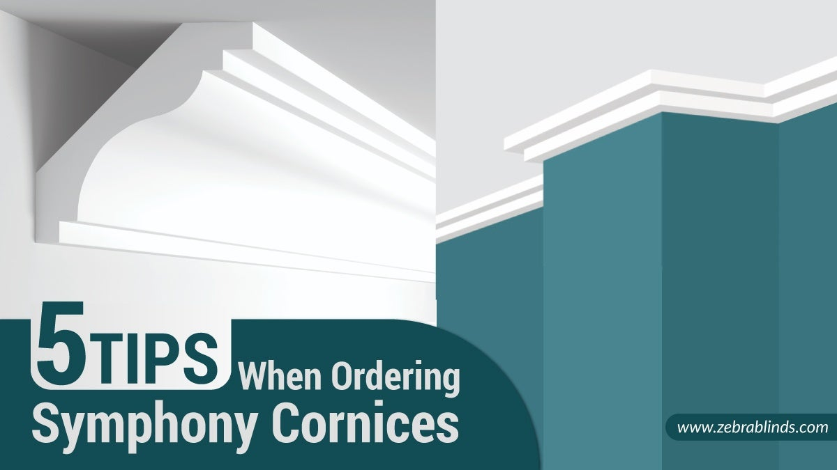 5 Tips When Ordering Symphony Cornices