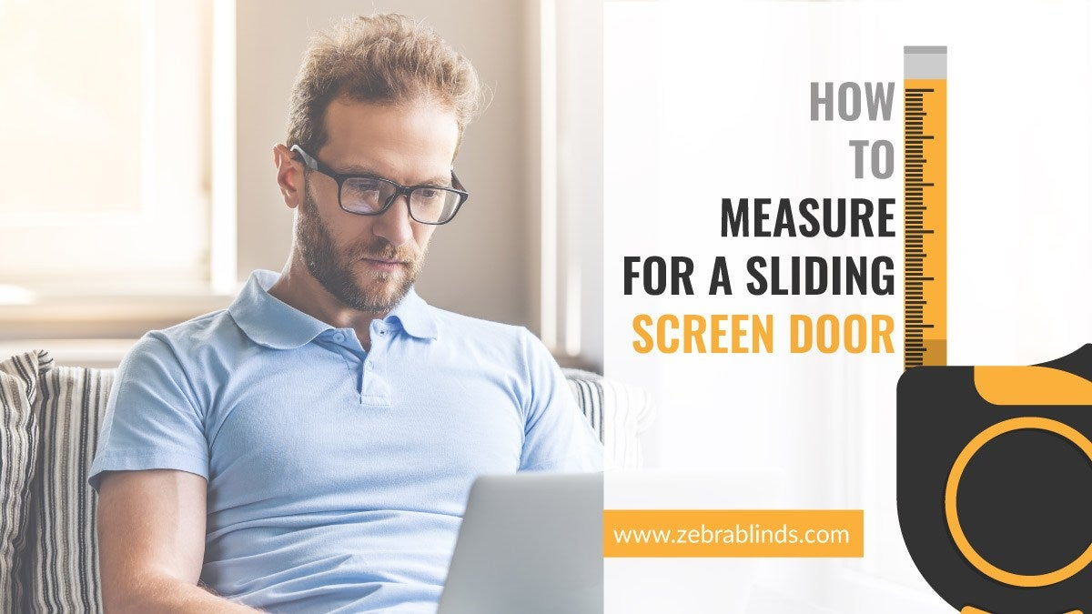 How To Measure For a Sliding Screen Door