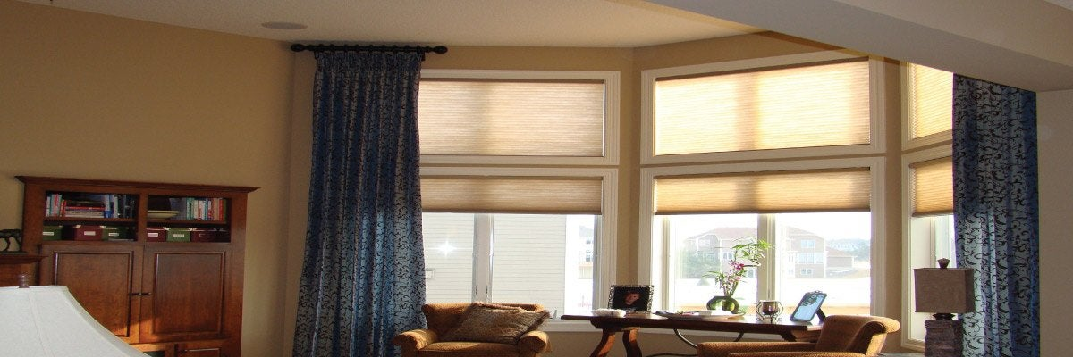 Blinds and Curtains for Big Windows