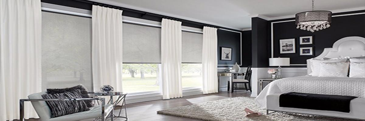 Solar Shades for Recessed Windows